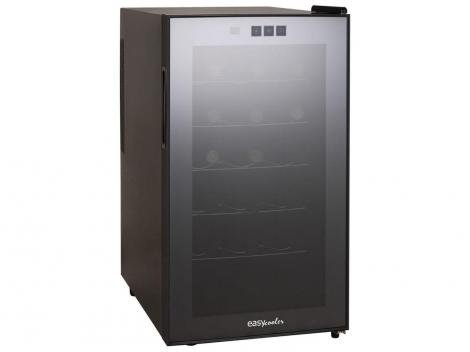 Adega Climatizada Easycooler 18 Garrafas JC-48G - Controle Digital de Temperatura