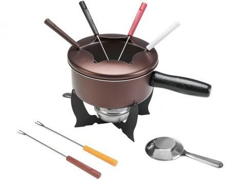 Aparelho de Fondue Brinox Chocolate 10 Peças - 1255/116
