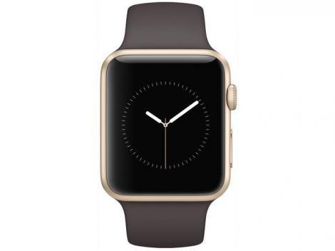 Apple Watch Series 1 42mm Alumínio 8GB Esportiva - Bluetooth Wifi Resistente à respingos de água