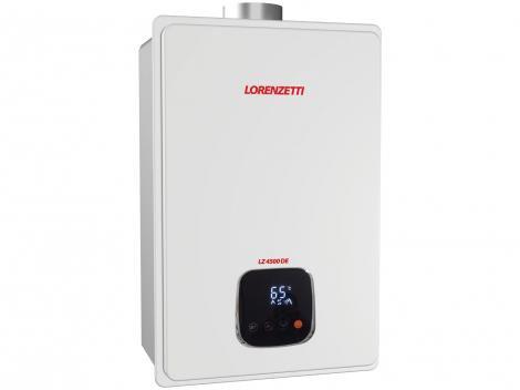 Aquecedor de Água à Gás - Lorenzetti LZ 4500 DE GLP Vazão 45,0 l/min