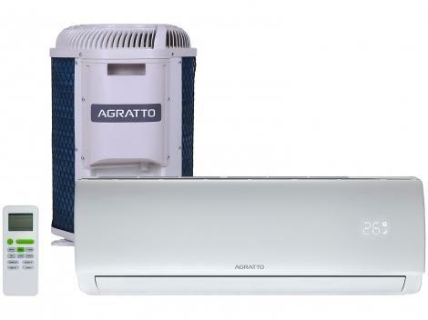 Ar-condicionado Split Agratto 9.000 BTUs - Quente/Frio ECO TOP ECS9QFR4 4388