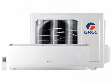 Ar-condicionado Split Gree Inverter 12.000 BTUs - Frio Hi-wall Eco Garden GWC12QCD3DNB8MI
