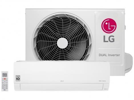 Ar-condicionado Split LG 12.000 BTUs Frio - Dual Inverter Voice S4-Q12JA3WF