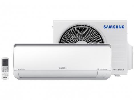 Ar-condicionado Split Samsung Inverter - 11.500 BTUs Frio AR12NVFPCWKXAZ