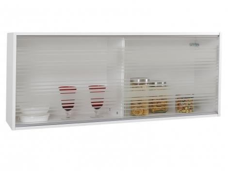 Armário de Cozinha Aéreo Madesa G25125 - 2 Portas 100%MDF