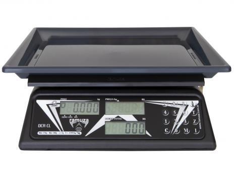 Balança Industrial Digital Ramuza - 1057 DCRBCL 15 Até 15Kg
