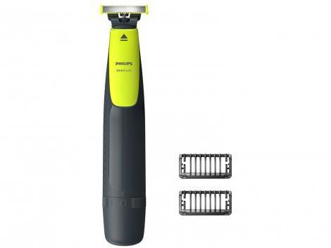 Barbeador Elétrico Philips OneBlade - Seco e Molhado com Acessórios
