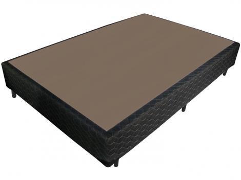 Base Cama Box Casal Probel 26cm de Altura - Sarja Black