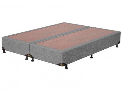 Base Cama Box Queen Size Probel Bipartido - 26cm de Altura PA49278