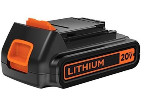 Bateria 20V Recarregável de Lítio 1,5Ah - BlackDecker LD120BAT