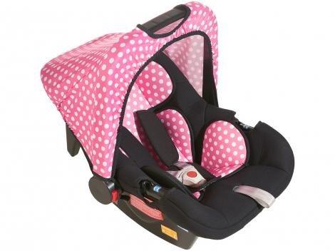 Bebê Conforto Protek 3 Posições GO+ - Black Comfort para Crianças até 13Kg