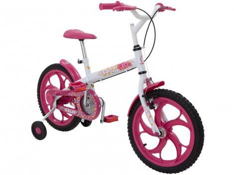 Bicicleta Caloi Ceci Aro 16 - Quadro Aço Carbono