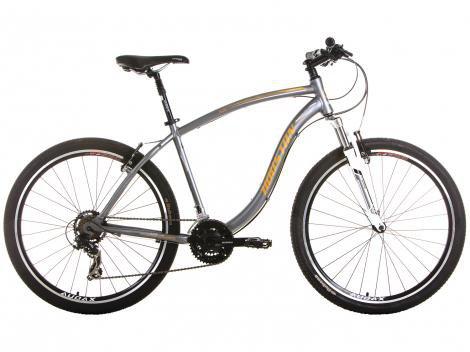 Bicicleta Houston HT70 Aro 27,5 21 Marchas - Suspensão Dianteira Câmbio Shimano