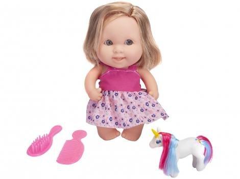 Boneca Babies Unicórnio com Acessórios - Bee Toys