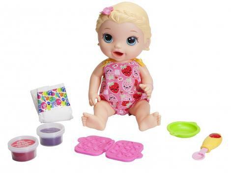 Boneca Baby Alive Lanchinho - com Acessórios Hasbro