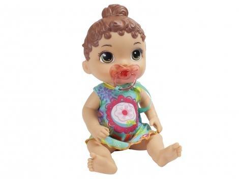 Boneca Baby Alive Primeiros Sons  - com Acessórios Hasbro