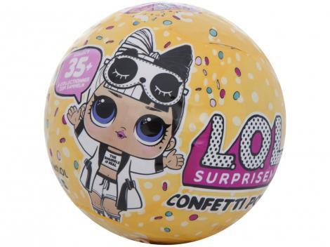 Boneca LOL Surprise! Série 3 Confetti Pop - com Acessórios Candide