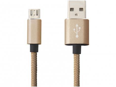 Cabo Micro USB 1,2m Easy Mobile - CBMICRO1MDD