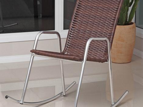 Cadeira Alumínio de Balanço Alegro Móveis - CB300
