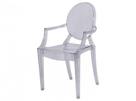Cadeira de Policarbonato Invisible - Sofia OR Design