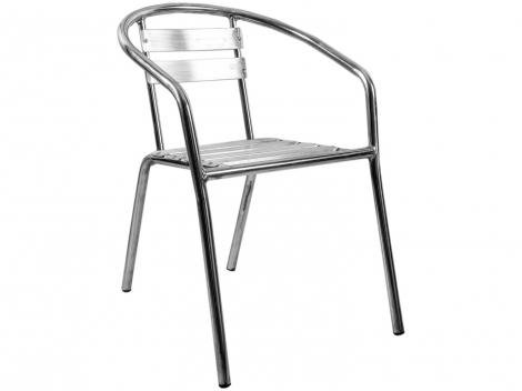 Cadeira para Jardim/Área Externa Alumínio - Alegro Móveis A100
