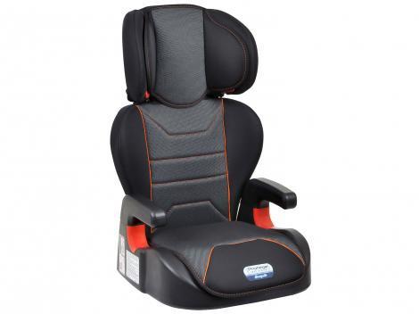 Cadeirinha para Auto Burigotto 2 Posições Protege - Reclinável Cyber Orange para Crianças até 36kg