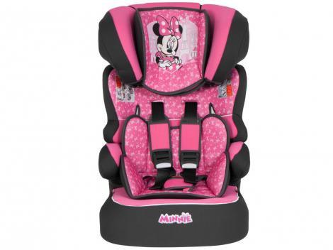 Cadeirinha para Auto Team Tex Disney Beline Luxe - Minnie Mouse Paris para Crianças até 36kg