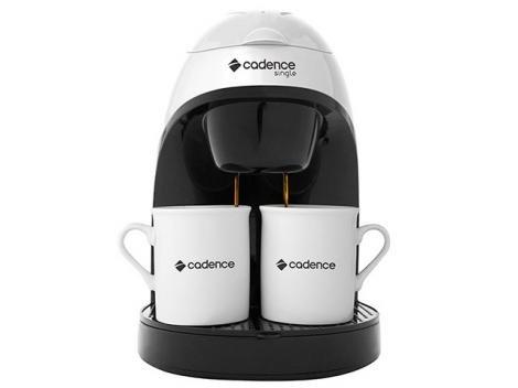 Cafeteira Elétrica Cadence Single 2 Xícaras - Branco