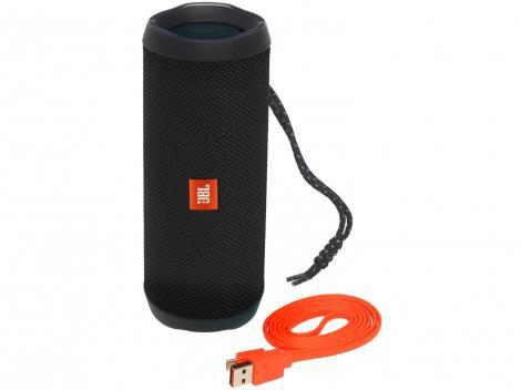 Caixa de Som Bluetooth JBL Flip 4 à Prova dÁgua - Portátil 16W USB