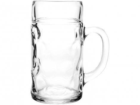 Caneca de Chopp e Cerveja de Vidro 1,25L - Ruvolo Mass Krug