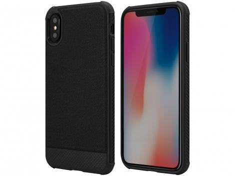 Capa Protetora Carbon X Slim iPhone X - Geonav