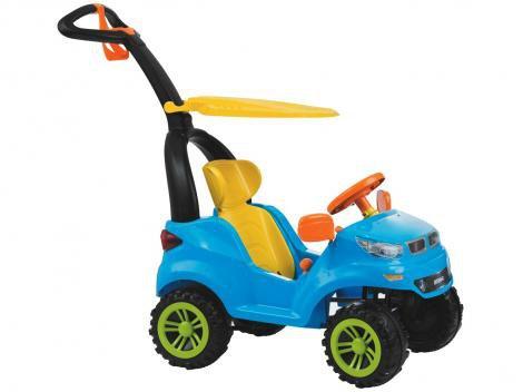 Carrinho de Passeio Infantil Push Car Easy Ride - 726 com Pedal com Empurrador com Capota Biemme