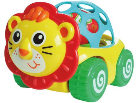 Carrinho Play Bee Carrinhobol Leão - BeeMe Toys