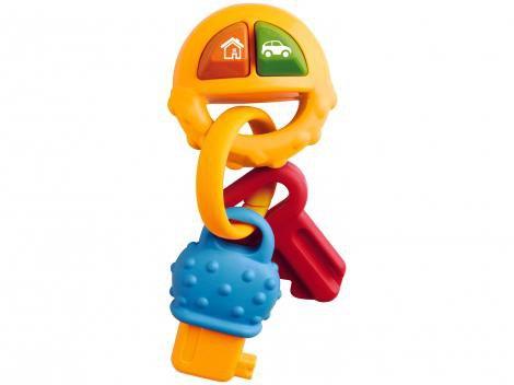 Chocalho para Bebê Yes Toys - Pura Diversão Chaveiro do Bebê