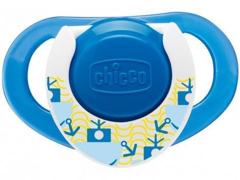 Chupeta de Silicone Bico Ortodôntico Chicco - Compact