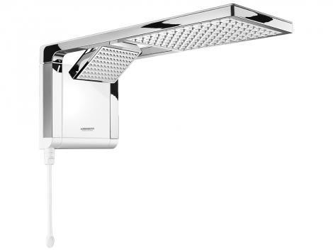 Chuveiro Eletrônico Lorenzetti Ultra Aqua Duo - 5500W Temperatura Gradual com Chave Seletora