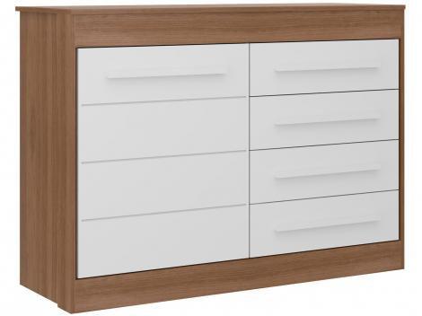 Cômoda Infantil 1 Porta 4 Gavetas Multimóveis - Chocolate Plus 2694936