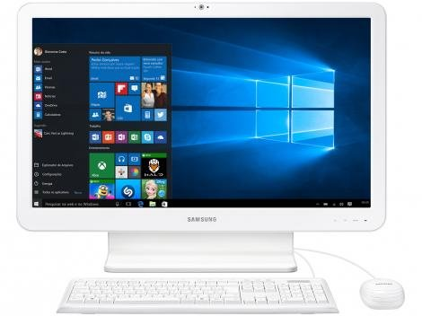 "Computador All in One Samsung E1 Intel 4GB 500GB - LED 21,5"" Windows 10"