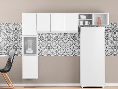Cozinha Compacta Poliman Laura - 5 Portas
