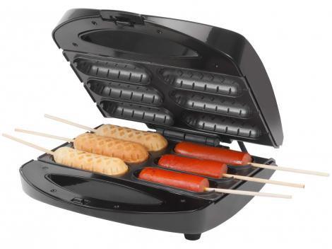 Crepeira Elétrica Antiaderente - 06 Crepes ou Hot Dogs 850W Mondial CP-01