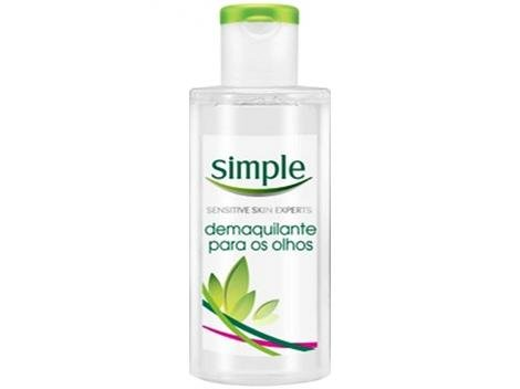 Demaquilante Simple Kind to Eyes - Eye Make Uo Remover 125ml