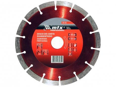 Disco de Corte Diamantado 180x25,4mm MTX - 731119