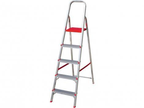 Escada 5 Degraus de Alumínio Botafogo - 064