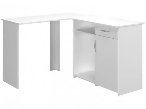 Escrivaninha/Mesa para Computador 1 Porta 1 Gaveta - Multivisão kit Union