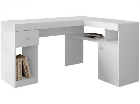 Escrivaninha/Mesa para Computador 1 Porta - 2 Gavetas Líder Design Work