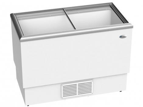 Expositor/Freezer Horizontal Venax 300L - com Tampa de Vidro - FVTV300