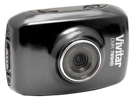 Filmadora Vivitar DVR785HD HD Esportiva 5MP - Conexão Mini USB com Caixa Estanque