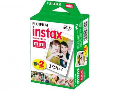 Filme Instantâneo Fujifilm Instax Mini  - Branco