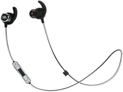 Fone de Ouvido Bluetooth JBL Intra Auricular - com Microfone Esportivo Preto Resistente à Água