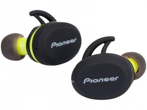 Fone de Ouvido Bluetooth Pioneer SE-E8TW-Y - Intra-auricular com Microfone Resistente à Água